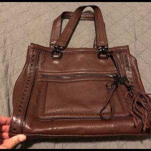 Aimee Kestenberg Brown Leather Tote